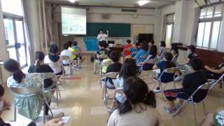 地元小学校で5年生の子ども達に電子マネー講座を開催しました!